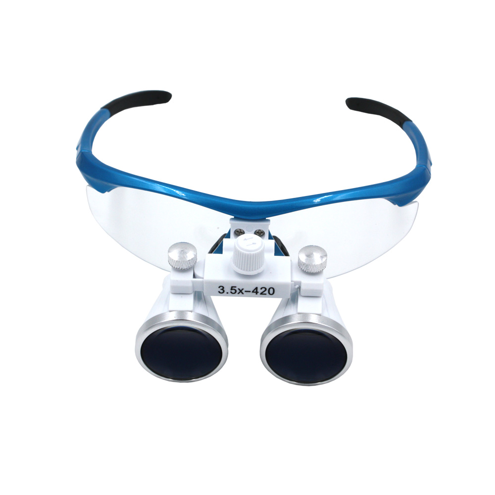 3.5x420mm Dental Loupes Surgical Binocular Loupe dental Magnifier Glasses<br>