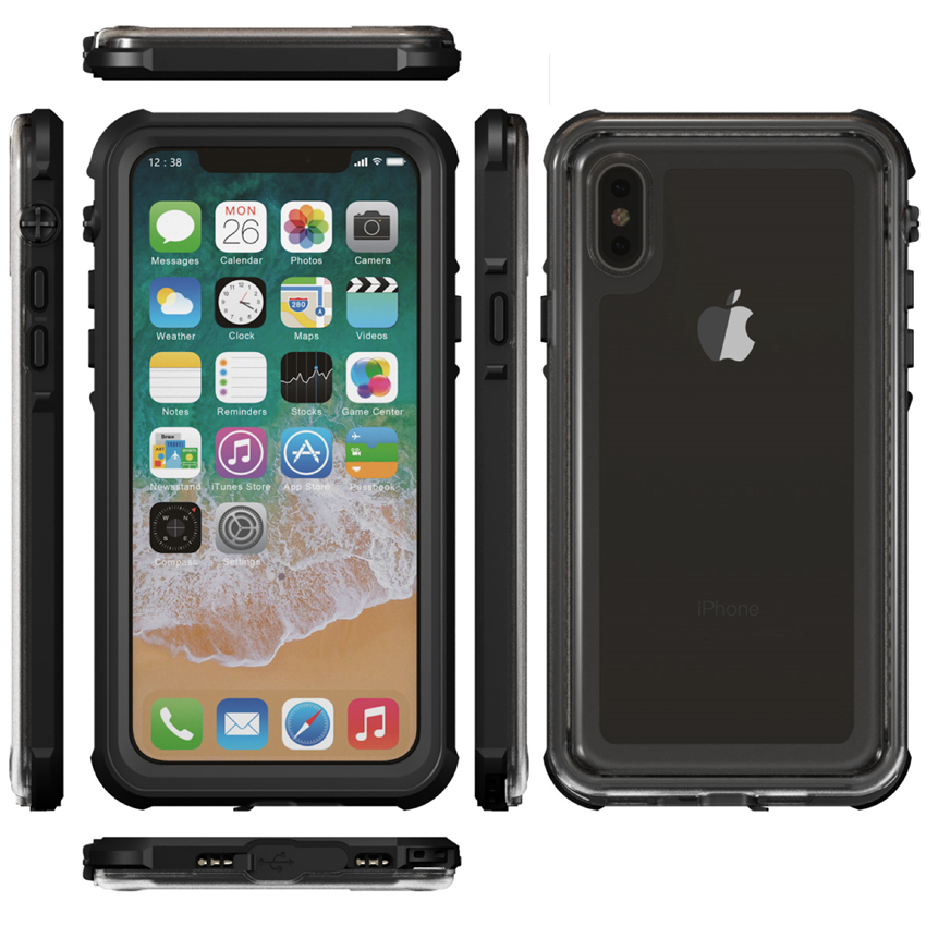 for iphone X waterproof case (15)