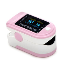Contec CMS50D Factory Price Home Use Pink Fingertip Pulse Oximeter With Color OLED Display