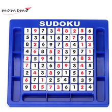 Children Sudoku Puzzle Learning Education Adult Jigsaw Puzzles Math Toys for Children Adults Sudoku Number Table Game Puzzle Box(China)