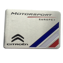 For Citroen C1 C2 C3 C4 C5 C6 C8 C3-XR C4L C4 PICASSO C4-Aircross Elysee Triomphe Quatre Car Sports Emblem Badge Metal Sticker
