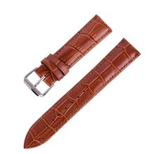 New Durable men women Genuine Leather watch strap for men &women 16 18 20 22 24mm genuine leather Watch Band
