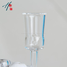 Thickness 4mm  Natural Rock Crystal Nail 14mm 18mm Female Joint Quartz Banger For Smoking Accessories One Group