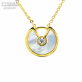The-new-fashion-Amulette-DE-series-necklace-stainless-steel-main-material-round-white-black-shell-charm.jpg_200x200