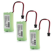 3pcs EBL 1400mAh 2.4v NI-MH Replacement Battery For Uniden Home Cordless Phone BT1007 BT-1007 Batteries Free Shipping(China)