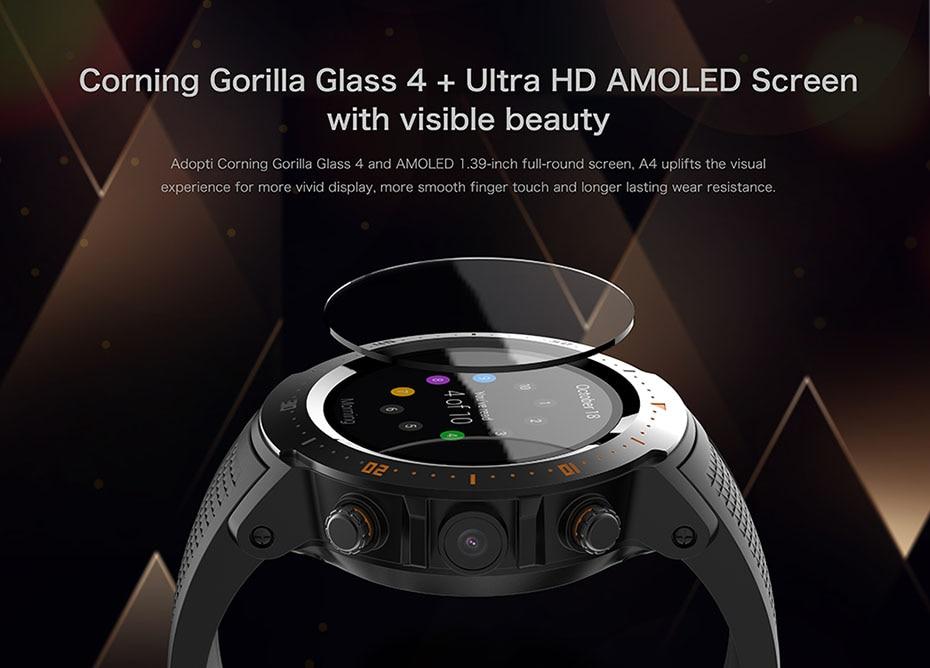 COLMI Flagship 4G Smart watch Android 7.1 OS MTK6739 1GB+16GB 400400 Display 530MAH IP67 waterproof GPS Men Smartwatch 7