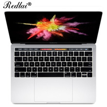 "New Silicone Skin US English Alphabet Keyboard Cover For Apple 2016 MacBook Pro Retina 13"" 15"" with Touch ID and TouchBar Best(China)"