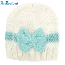 Bnaturalwell CROCHET PATTERN Newborn girl hat  Baby photo outfit pattern Hat with bow Knit beanie Handmade gift Photo Prop H829