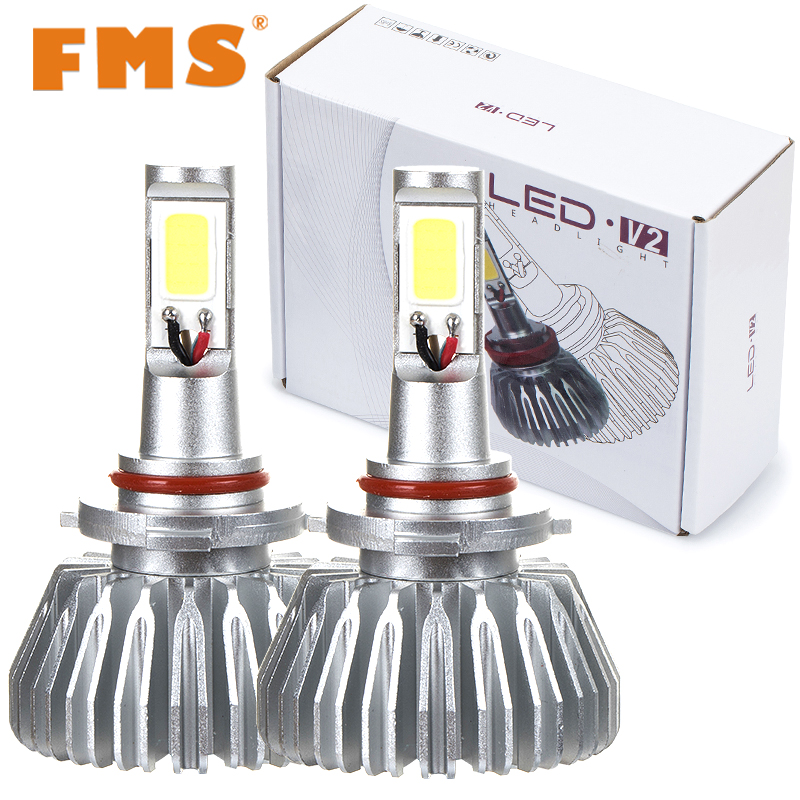 60W 6000k Car LED Headlights H1 H4 H7 H11 9005 Repalcement Xenon Fog Headlamp COB Chips Hi-Lo beam Automotive LED Lamps For Cars<br><br>Aliexpress