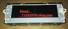 Red screen support air conditioning display USB optional English and French with 6 pin for Peugeot  Citroen