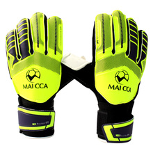 2017 Professional Football Goalkeeper Gloves Kids Football Gloves Boys Thicken Latex Soccer Goal Keeper Goalie Training Gloves