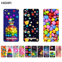 Silicone For Xiaomi Redmi 4 Pro Phone Case for Redmi 4A 4X Shell Transparent for Hongmi 4 4S Bumper Cover Rainbow Candy Pattern