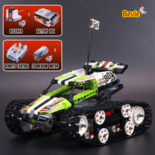 LEPIN 20033 397Pcs Technic Series Remote Control Caterpillar Vehicles Building Block Bricks Compatible With Lepind Technic 42065