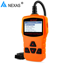 OBD OBD2 Automotive Scanner Nexas Nexlink NL100 Auto Diagnostic Car Code Scanners O2 Sensor with 10 model Diagnostic Scan Tool(Hong Kong)