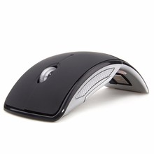Hot Sale Wireless Mouse 2.4G Computer Mouse Foldable Folding Optical Mice USB Receiver for Laptop PC Computer Desktop Office(China)