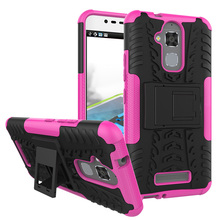 Military Armor Kickstand Phone Case Cover For Asus Zenfone 3 Max ZC520TL 5.2 inch Housing Zenfone3 Max Case 2 in 1 Hybrid Cover