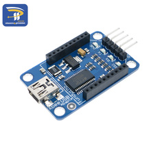 Mini Bluetooth Bee FT232RL USB to Serial Adapter Module USB to 232 Xbee Adapter For Pro Mini Downloader Blue