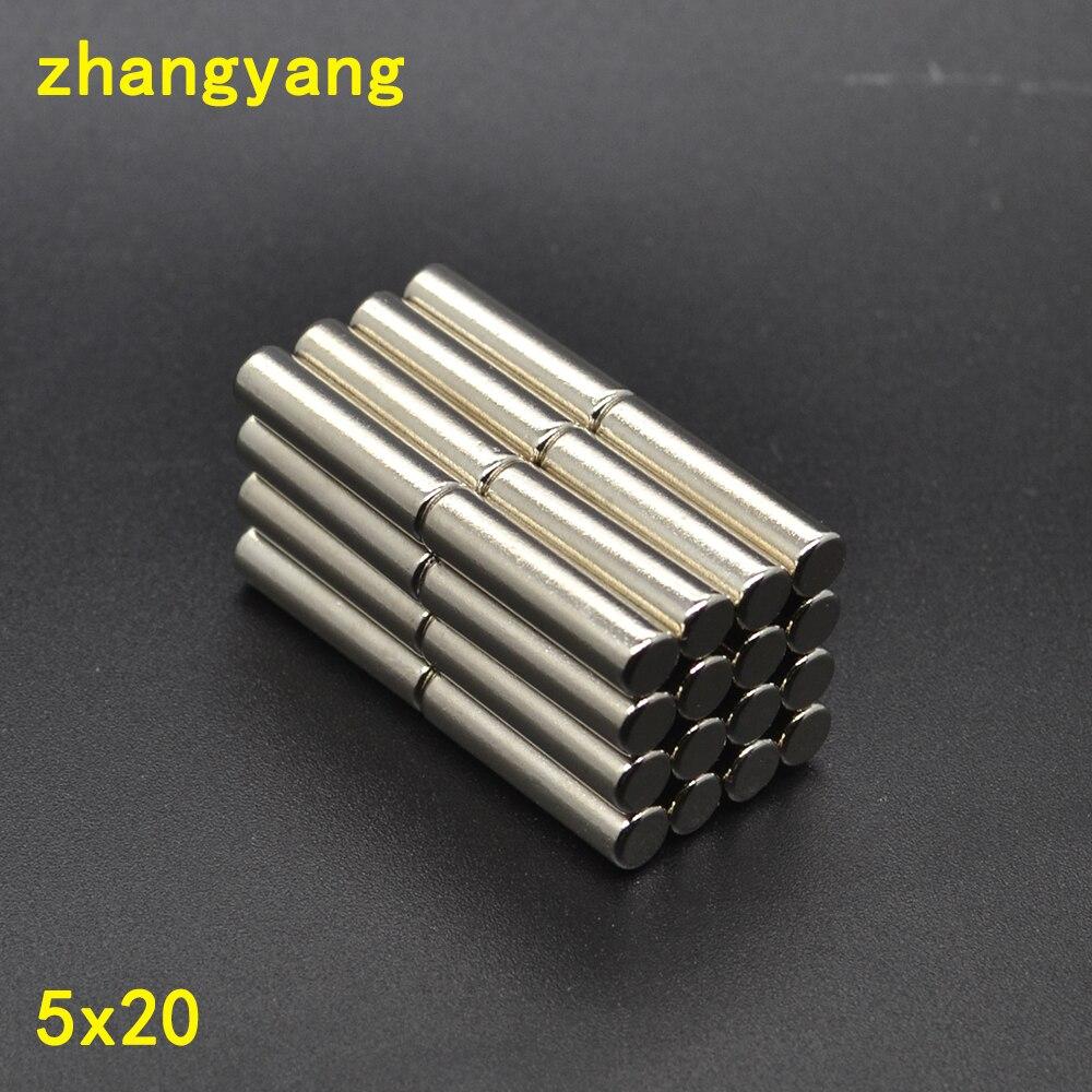N35 Magneten Zylinder starke Seltenerd-Neodym-Magneten 10 x 8mm 2 Pcs Neu