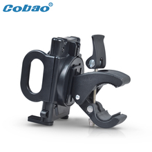 Cobao universal bicycle phone holder 360 rotating scooter motorcycle phone holder riding navigation for smartphone cellphone(China)