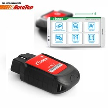 Newest XTUNER X500 OBD2 Auto Diagnostic Tools for Android Bluetooth Special Function ABS Bleed Oil Service DPF EPB Reset tool