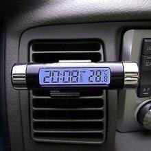 9f58dbaaf71 Nova 2em1 Car Auto LCD Clip-on Digital Backlight Automotive Termômetro  Relógio Calendário(China