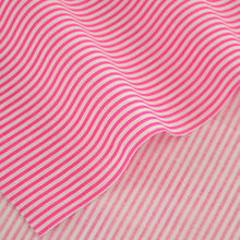100% Cotton Fabric News Pink and White Stripes Designs Patchwork Clothes for Doll's DIY Decoration Tissue CM Crafts Home Textile