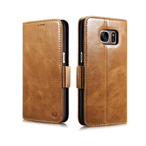 New Design Icarer Silmarillion Leather Detachable 2 in 1 Wallet Folio Case Cover For Samsung Galaxy S7(China)