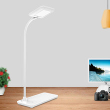 Small apple LED desk lamp USB charging touch reading light eye protection lamp Concise fashion white/pink/blue book light(China)