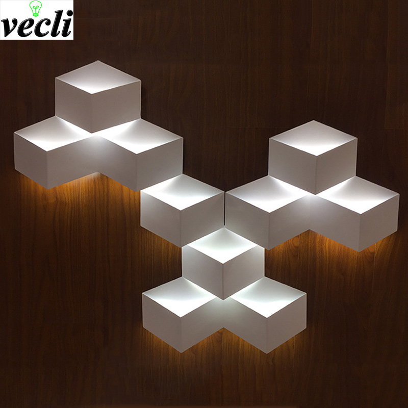 Nordic Wood Wall Lamps Bedroom Bedside Reading Light Modern LED Wall ...