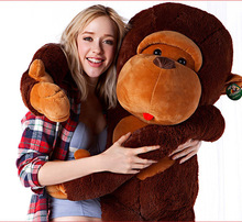 "2016 130CM/51""QUICK SELLER GIANT HUGE BIG STUFFED ANIMAL SOFT MONKEY TOYS"