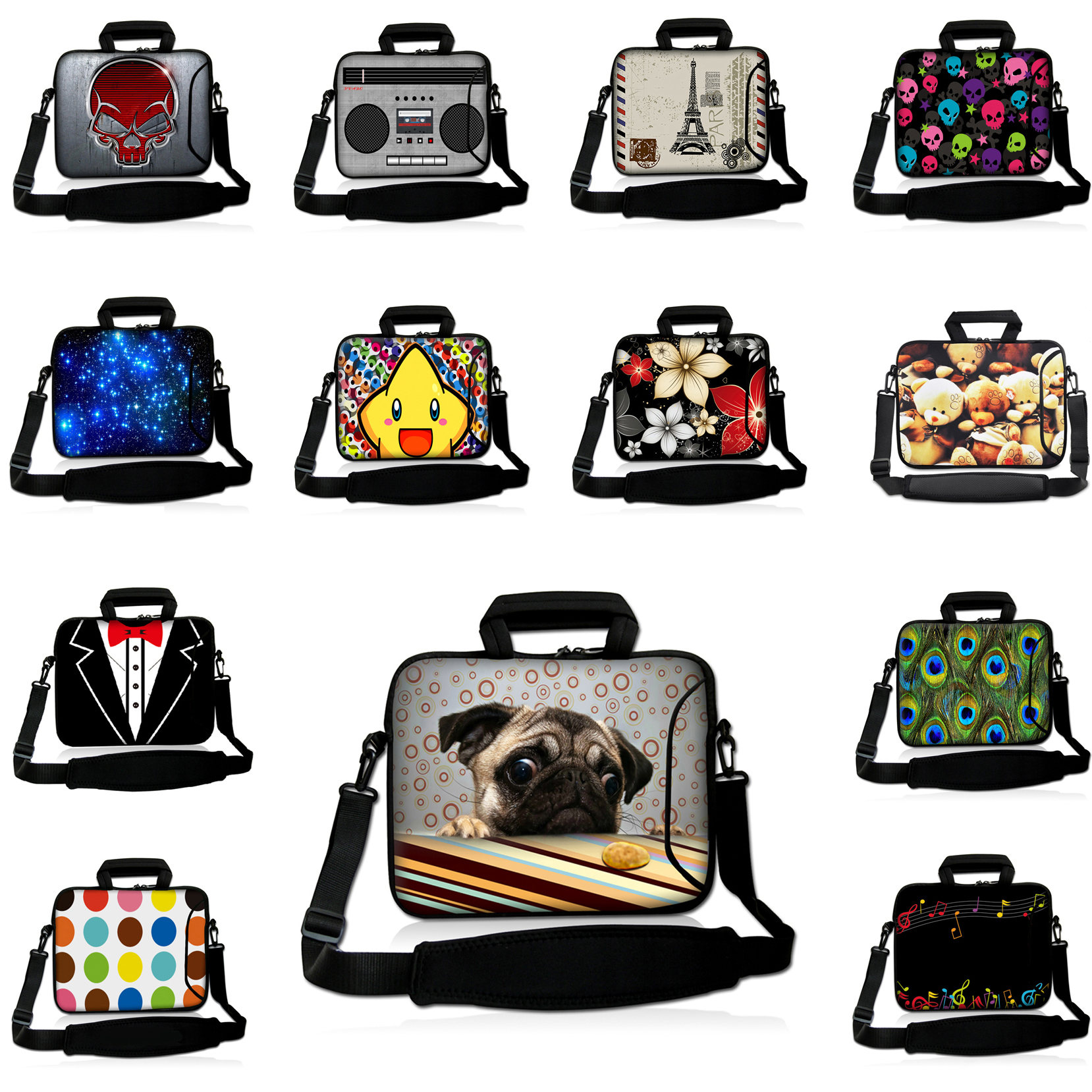17 17.3 17.4 16.8 inch Sleeve Notebook Tablet Cover Cases Suitable For Lenovo Toshiba Dell Shoulder Strap Messenger Laptop Bags<br><br>Aliexpress