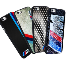 Luxury Mobile Phone Case For iPhone 5 S 5S SE 6 6S 7 Plus BMW Case M3 M5 Series Logo Black Soft Silicone Case Cover