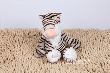 small cute Plush tiger  toy Stuffed jungle tiger gift doll about 25cm