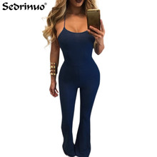 2017 Women Autumn suede bodycon Bodysuit rompers womens party elegant jumpsuit sleeveless one piece outfits playsuit Overalls(China)