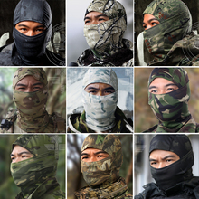 18 Style Multicam Camouflage CP Tight Balaclava Tactical Airsoft Military Army Paintball Helmet Liner Full Face Mask(China)