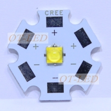 20pcs Cree XTE XT-E LED1- 5W LED Neutral White 4500-5000K Warm White 3000-3200K high power LED CHIP with 20/16/14/12/8MM PCB