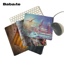 Babaite Design Printing Non-Skid Mat for Nice house fans Animals Cartoon Mouse Pad New Design Two Size 180x220x2mm 250x290x2mm(China)