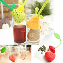 Brazil Pear Design Silicone Teacup Teapot Tea Strainer Infuser Bag Filter vFMdz