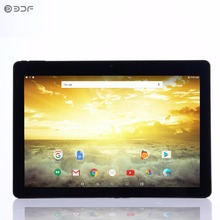 New Design 10 inch Android 6.0 uad Core Tablets Pc 1GB 32GB ips Definition LCD Dual camera support Google Market(China)