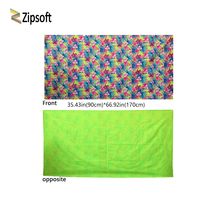 Zipsoft Beach towel Adult Christmas gift 90*170cm Swimming travel Bath compact antibacterial quick dry water absorbent washrag(China)