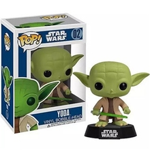 Funko POP! Star Wars Series Yoda Force Spirit Bubble Head Vinyl Figure Toy Boys Girls Kids Christmas Birthday Gift 10cm/4in