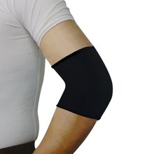 Sport Black Elastic Neoprene Elbow Support Sleeve Brace