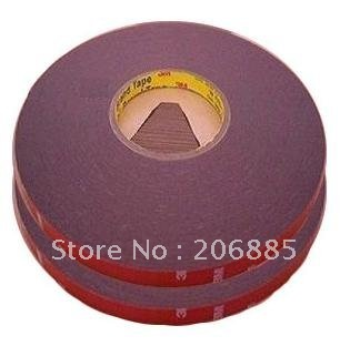 3M 4229P Auto two face acrylic adhesive foam tape/high sticky auto foam tape/ 15mm*33M/5rolls/lot<br>