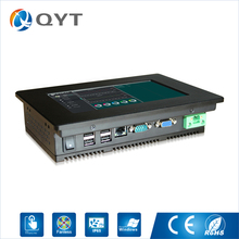 "New Atom N2800 1.86GHz 800*480 Linux ppc 7"" resistive touch embedded PPC industrial panel pc With VGA/RS232/4*USB/RJ45/WIFI(China)"