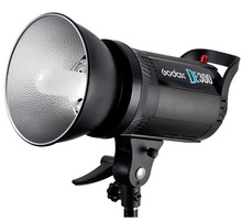 Godox DE300 300W Compact Studio Flash Light Strobe Lighting Lamp Head 300Ws,Give Sync Cable,Godox 55 standard cover as gift
