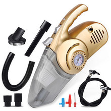 OHANNY car Vacuum cleaner wet and dry auto care with tire pressure gauge and air pump inflator Lighting and dust function