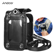 Andoer Multifunctional Clip-on Camera Bag Protecive Carrying Case with Neck Lanyard Lens Cap for SJCAM Series Action Camera