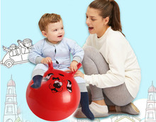1Pc PVC Material Bouncing Balance Ball Inflatable Massage Jumping Ball for Children Health Care