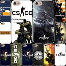 Counter Strike cs go Game Hard White Cover Case for iPhone 8 8 Plus 7 7 Plus 6 6S Plus 5 5S SE 4 4S X/10