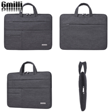 "Gmilli Nylon Laptop Bag Notebook Handel Cover Sleeve Case Carrying Pouch For Macbook Pro/Air 13"" 15"" Dropshipping(China)"